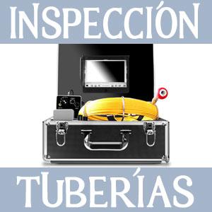 camara profesional de inspeccion de tuberias